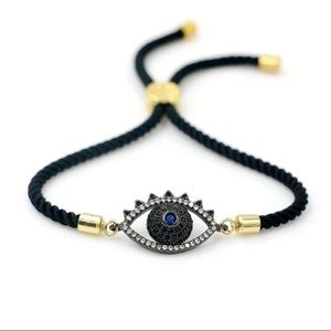 Jewelry - Turkish Evil Eye Rope Bracelet
